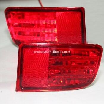 For Prado FJ120 LC120 2700 4000 Back Side Bumper Light 2003-2008 Red