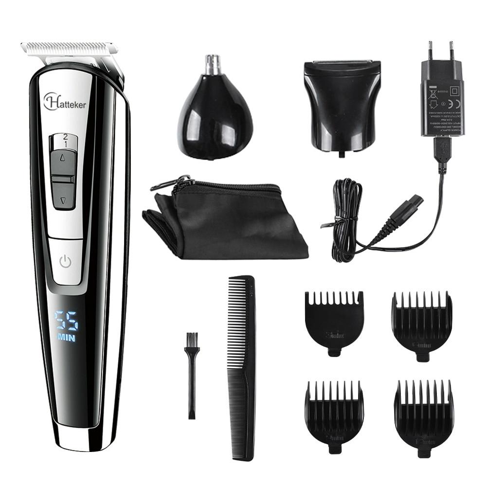 Tagliatore di capelli ricaricabile dei bambini di tagliatore di capelli adulto tre colo rasoio di tagliatore di capelli a basso rumore e basso elettrico della taglierina di ceramica della taglierina