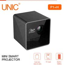 P1 Projector Pocket Home Movie Projector Proyector Beamer Battery Mini DLP P1 projector mini led projector