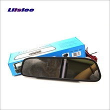 Liislee For BMW X5 E53 E70 / X6 E71 Rearview Mirror Car Monitor Screen Display / 4.3 inch / HD TFT LCD NTSC PAL Color TV Syste