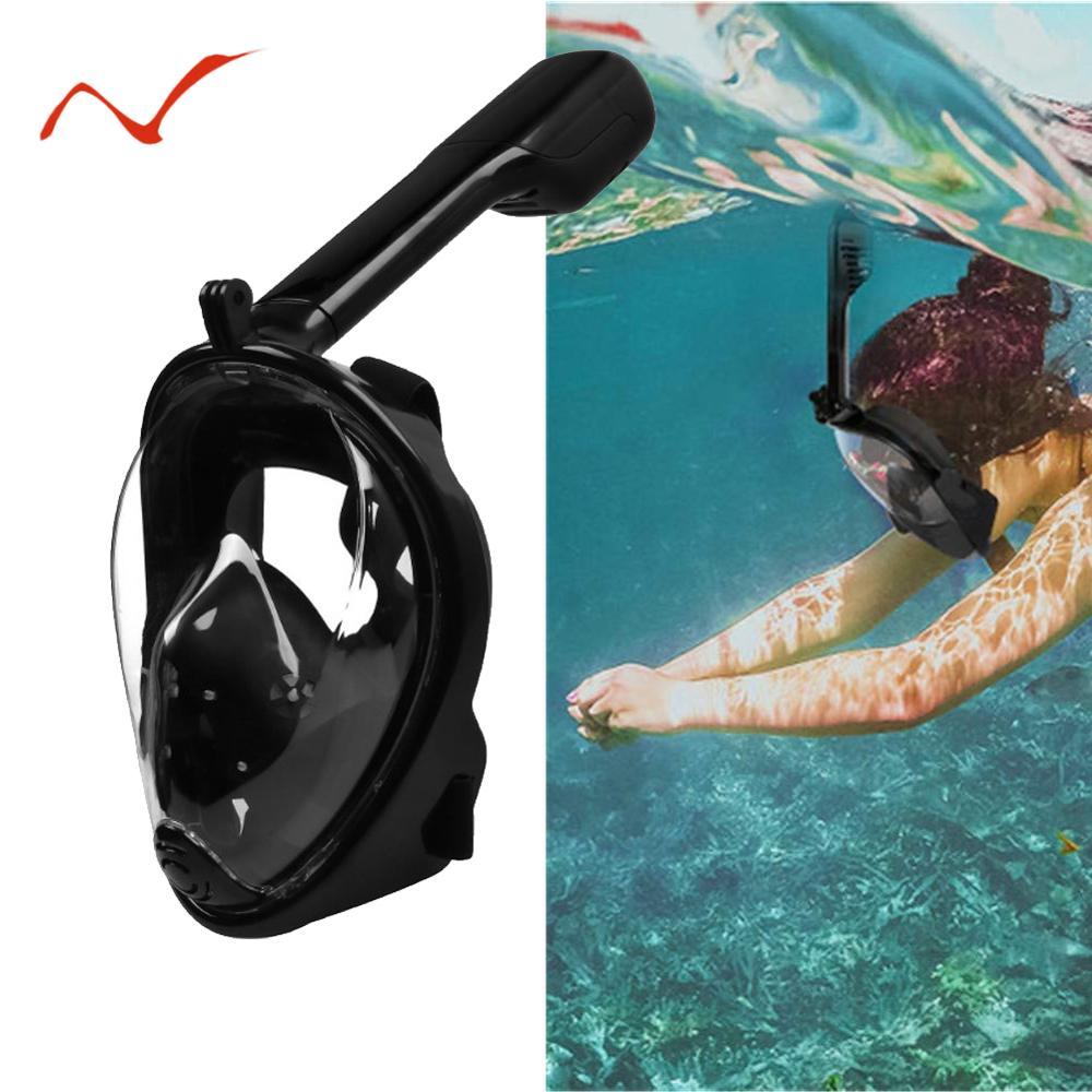 Diving Mask Underwater Anti Fog Full Face Snorkeling Swimming Dive Men Women Diving Equipment