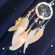 LED Lighting Girl Kids Room Decor Bell Girls Bedroom Romantic Hanging Decoration Dream Catcher Dreamcatcher