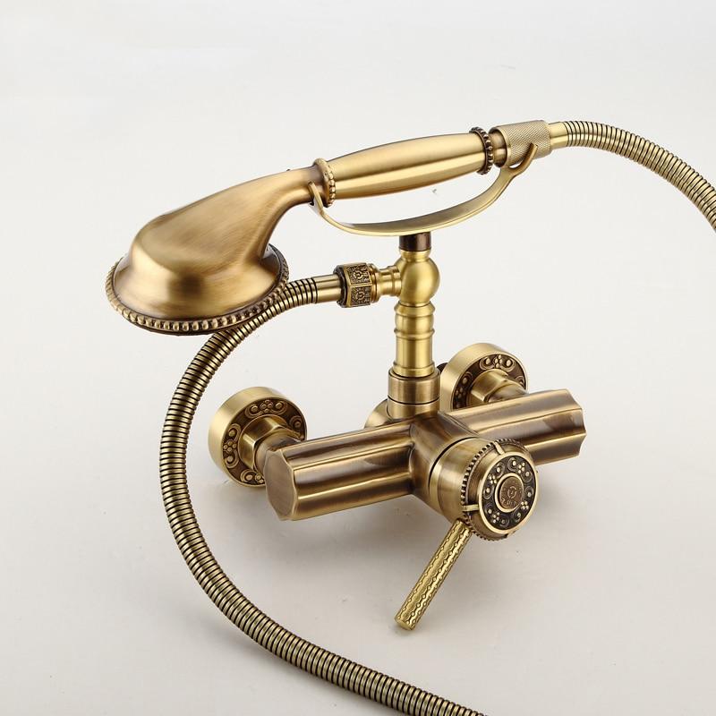 Luxury Chrome Brass Polished Bathroom Clawfoot Bathtub Faucet ...