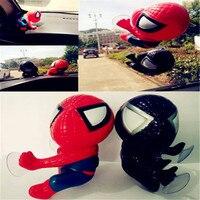16CM For Spider Man Toy Climbing Spiderman Window Sucker For Spider Man Doll Car Home Interior
