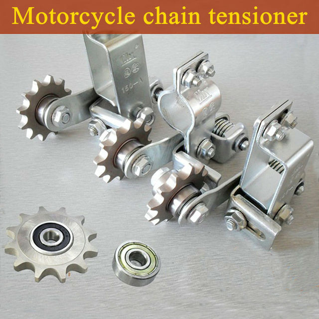2017 NEW 3 Model General Motorcycle MTB Automatic Chain Tensioner Anti-skid Chain Guide chain Free Shipping