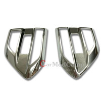 Chrome ABS Side Leafage Fender Cover Trim 2pcs For Ford EVEREST SUV 4DR 2015 2016 car styling accessories