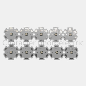 10pcs Cree XPE XP-E R3 1-3W LED Emitter Diode Neutral White Cool White Red Green Blue Royal Blue LED with 20/16/14/8mm heatsink