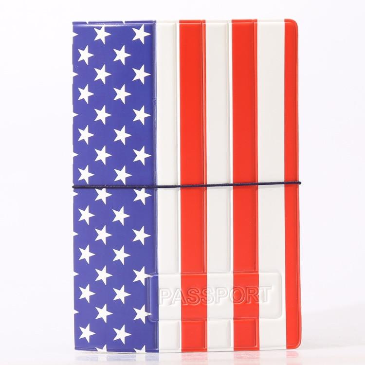 Hot Overseas Travel Accessories Passport Cover, Luggage Accessories Passport Card-The National Flag