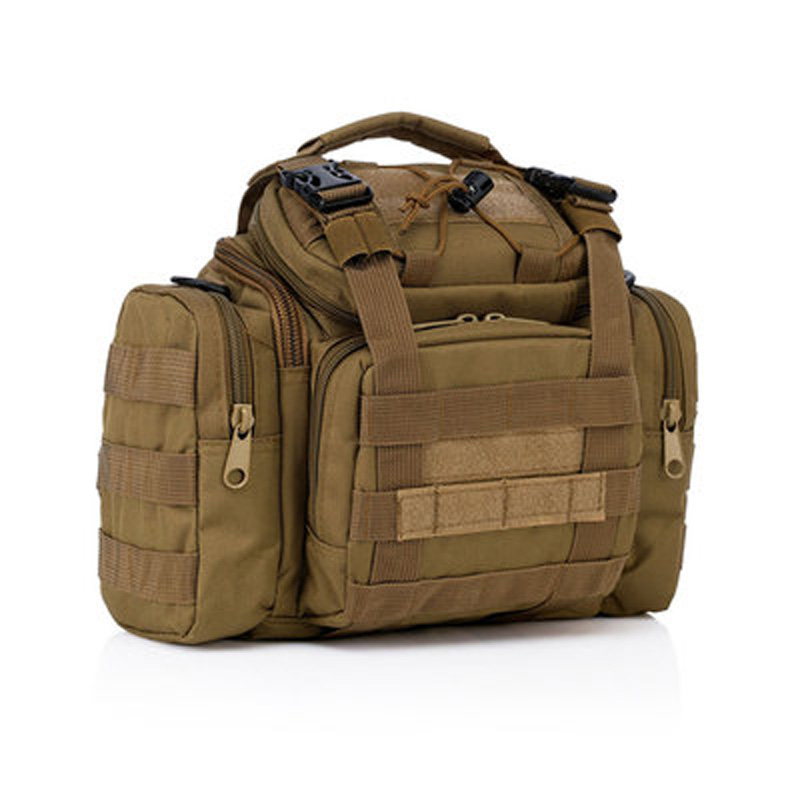 ФОТО Fishing Bags Outdoor Fishing Tackle Multi-Purpose Waist Satchel Messenger Bag Camouflage