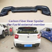82cf0bbcc21 High quality Carbon Fiber Car Rear Bumper Lip Diffuser for BMW 1 series F20  M135I MTECH