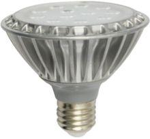 ФОТО free shipping par30 dimmable 220vac e27 30degree ra80 9w  820lm warmwhite led spot light