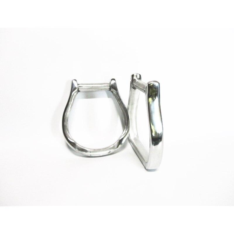 5 дюймов Западное седло Железный алюминиевый Oxbow конский седло перемешивания обернутый кожаный конский продукт F1022 - Цвет: Белый