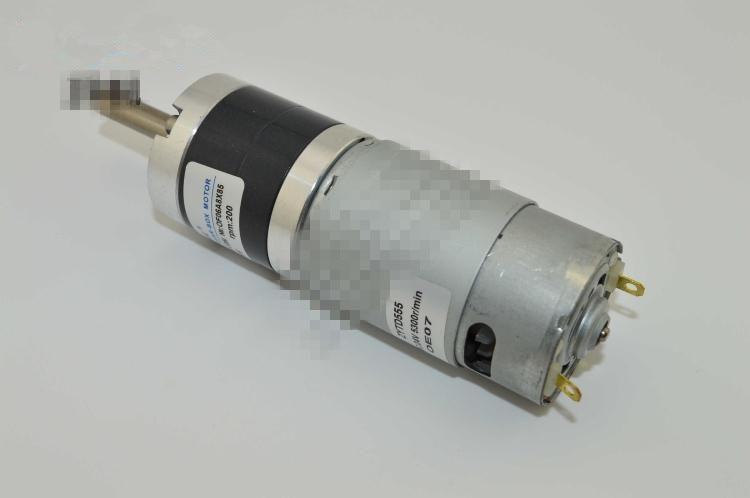 ZGX36RH 36mm DIA DC 12V 24V Permanent Magnet Planetary Gear Motor Brush 5RPM-300RPM
