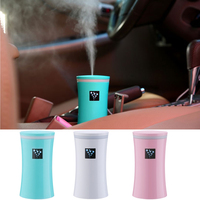 Car Air Freshener Humidifier With Light Air Freshener Essential Oil Aroma Diffuser Aromatherapy For Home Car