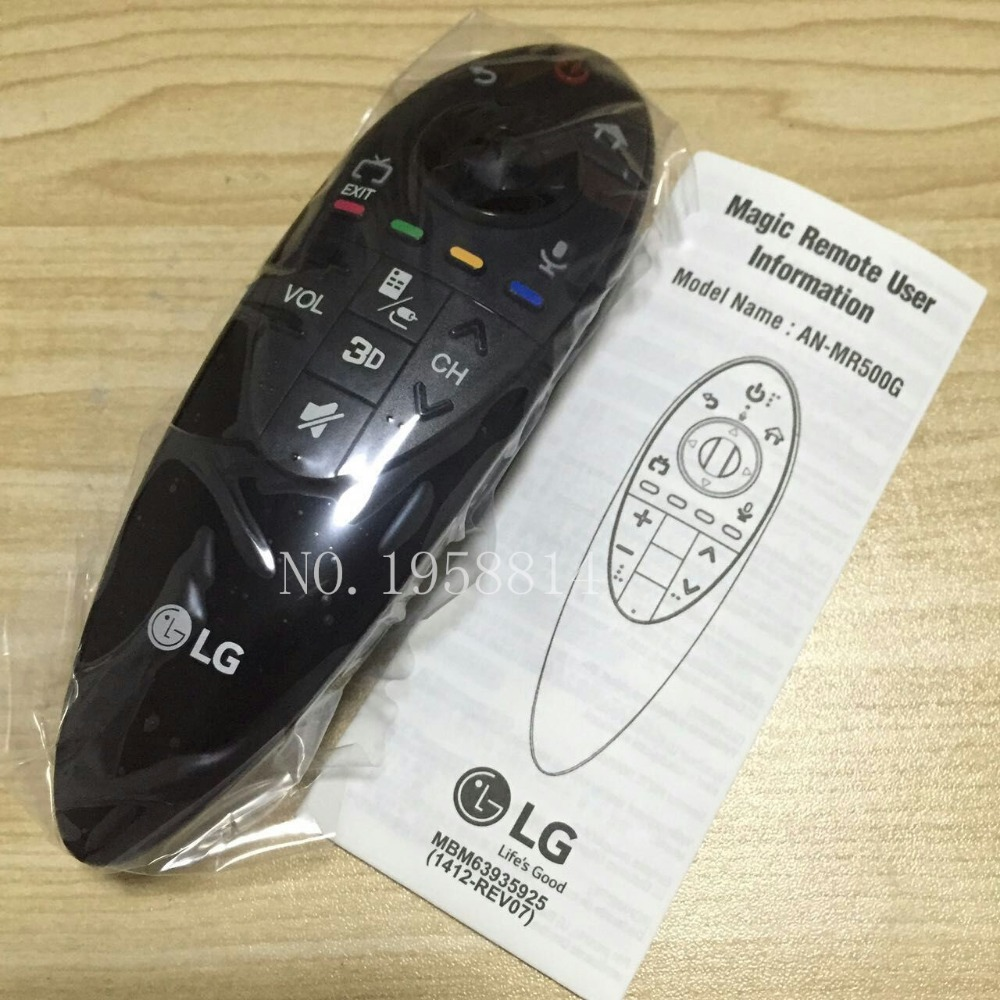 AN-MR500G New Arrival Free shipping Original Genuine  AN-MR500 Magic Remote Control FOR 2014 LG SMART TV English version 100% new and original fotek photoelectric switch a3g 4mx mr 1 free power photo sensor