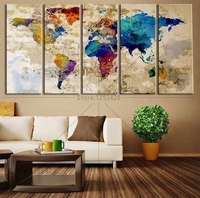 New Arrived 5D Diamond Painting The World Map Cross Stitch Kits Full Diamond Embroidery Pattern Mosaic
