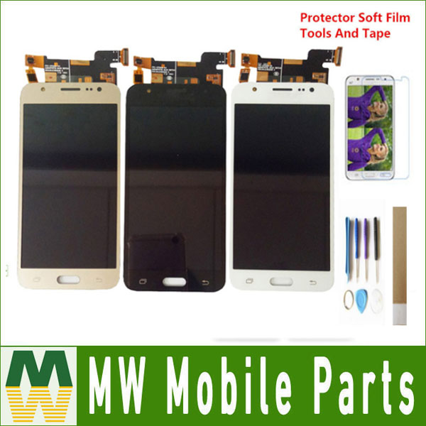 For Samsung Galaxy <font><b>J5</b></font> 2015 <font><b>J500</b></font> J500F J500FN LCD <font><b>Display</b></font> With Touch Sensor Glass Digitizer Assembly Black White Gold with kit image