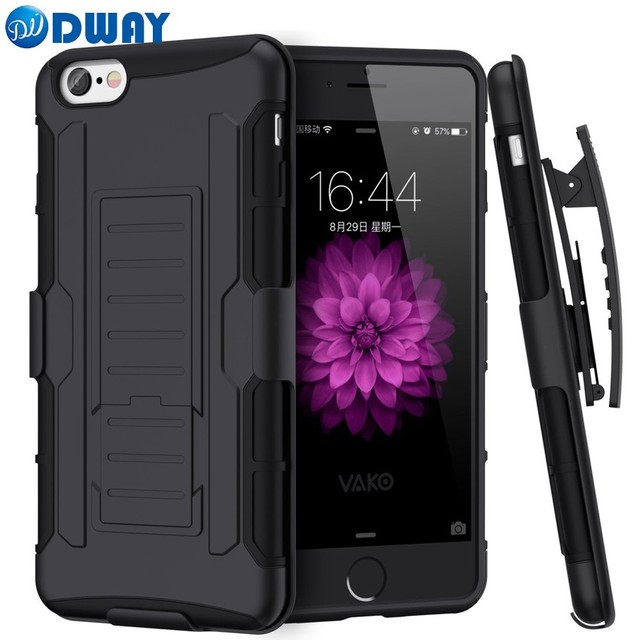 promo code 38953 52ebe Aliexpress.com : Buy Heavy Duty Shockproof Case for iPhone 6 Armour Hard  for iPhone 6S Kickstand Phone Cover Combo With Belt Clip Holster from ...