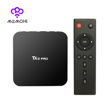 MEMOBOX TX5 Pro TV Box UHD 4 K Android 6.0 DDR3 2 GB eMMC 16 GB Amlogic S905X Quad Core WiFi Bluetooth 4 K 2 K DLNA Media Player(China)