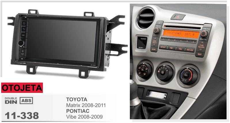Fit For Toyota Matrix Vibe Pontiac Quad Core Android 8 1 Frame Plus Car Radio Multimedia Stereo Head Units Tape Recorder Gps