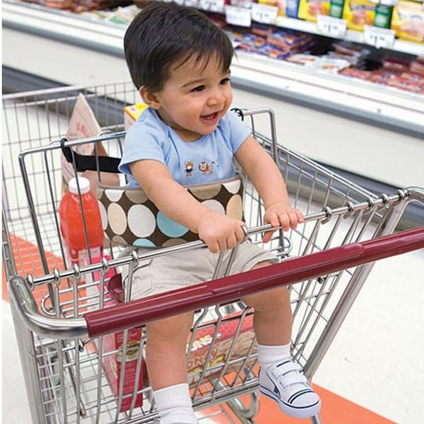 Baby Shopping Cart Wraps Strap Children Safety Belts