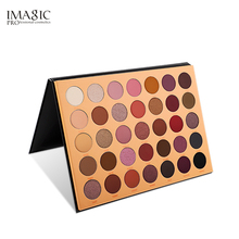 IMAGIC Eyeshadow Disc Pearlescent 35 Color Flash Sequins Natural Long Lasting Womens Eye Cosmetics