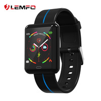 LEMFO F5 Smart Sport Watch 1.3 Inch Touch Screen Heart Rate Monitoring Blood Pressure 180Mah Battery Long Time Standby Bracelet