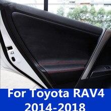 Для Toyota RAV4- Дверная панель forckin Автомобильный Дверной подлокотник forckin внутренняя отделка автомобильные аксессуары
