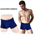 The new men 's underwear Modal boxed square pants solid color men' s angle underwear
