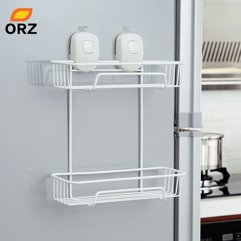 ORZ Suction Cup Kitchen Storage Holder Rack Organization Shelf ...