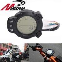 Free Shipping Motorcycle Speedometer 10000 RMP Digital Lcd 7colors Backlight For Yamaha Zuma BMK X125 YW125