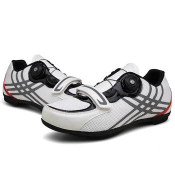 2019 New Cycling Shoes Road Sneaker Outdoor Professional Road Shoes Bicycle Shoes Non-Slip No-Lock Road Unisex Bike Shoes