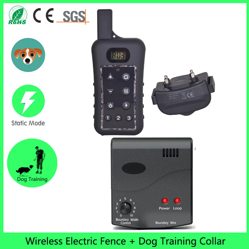 wireless dog fence dog training collarchina mainland