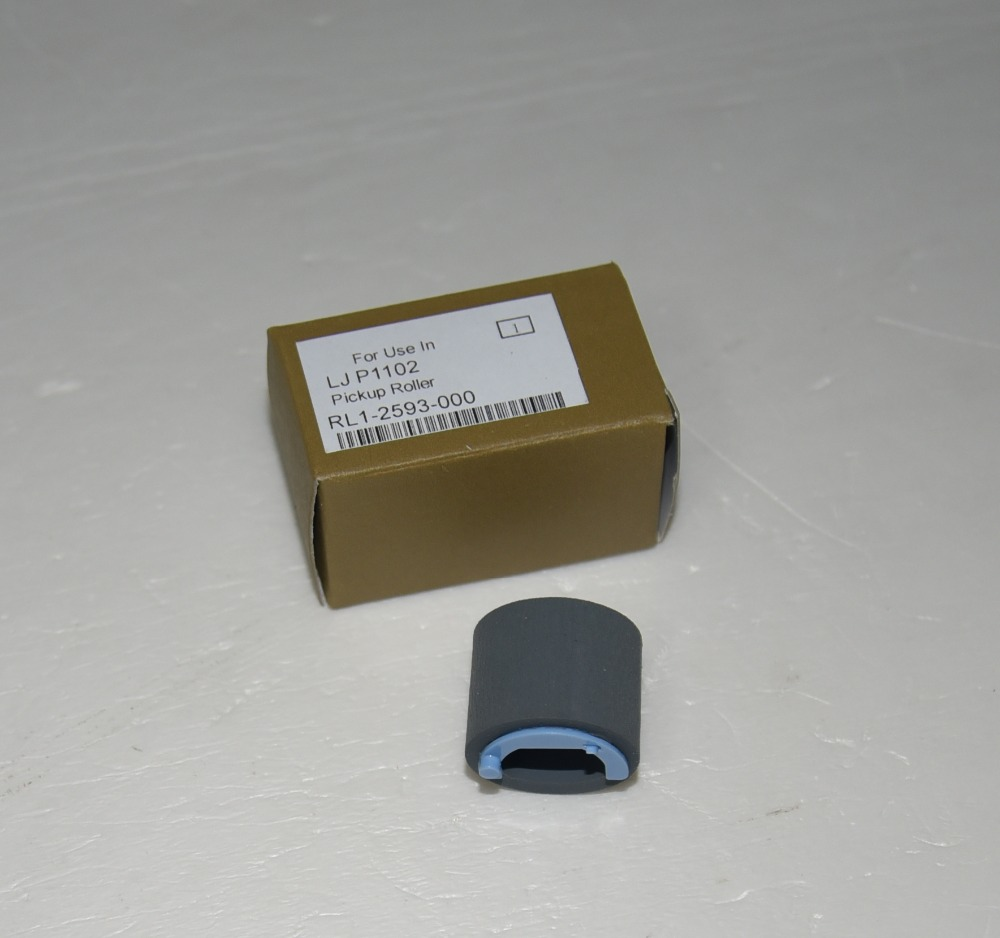 10pcs RL1-2593-000 Paper Pickup Roller for HP 1102 1132 1212 <font><b>P1102</b></font> M1132 M1212nf M1214nfh M1217nfw P1102w Canon MF3010 image