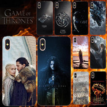 Phone Case For Doogee X70 X60 X50 X55 X53 X30 X20 X10 X9 X6 X5 Mini Max Pro Mix 2 Lite Cover for Game Of Thrones Seasons 8(China)