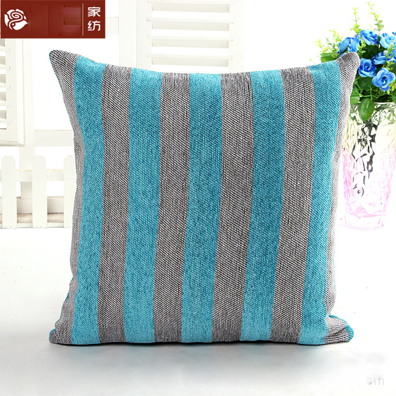 Free Shipping 45cm Classic Stripes Cushion Cover And Pillow Case For Office Chair Back Cushion Sofa Throw Pillow XUA102
