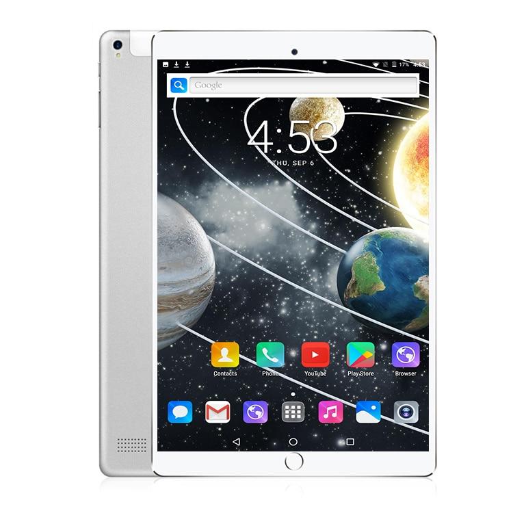 2018 DHL Frete grátis 2.5D 10 polegada Tablet PC Octa Núcleo 32 4 gb RAM gb ROM Cartões Dual SIM 4g LTE Android 7.0 WiFi 10 10.1 + Presentes