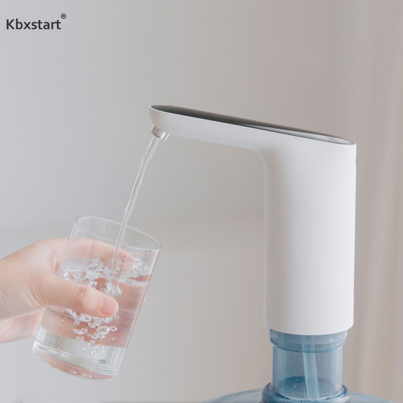 Kbxstart Mini Electric USB Water Dispenser Pump Machine Stand Smart Touch Drink Dispensador Tap Faucet For Gallon Water Bottles