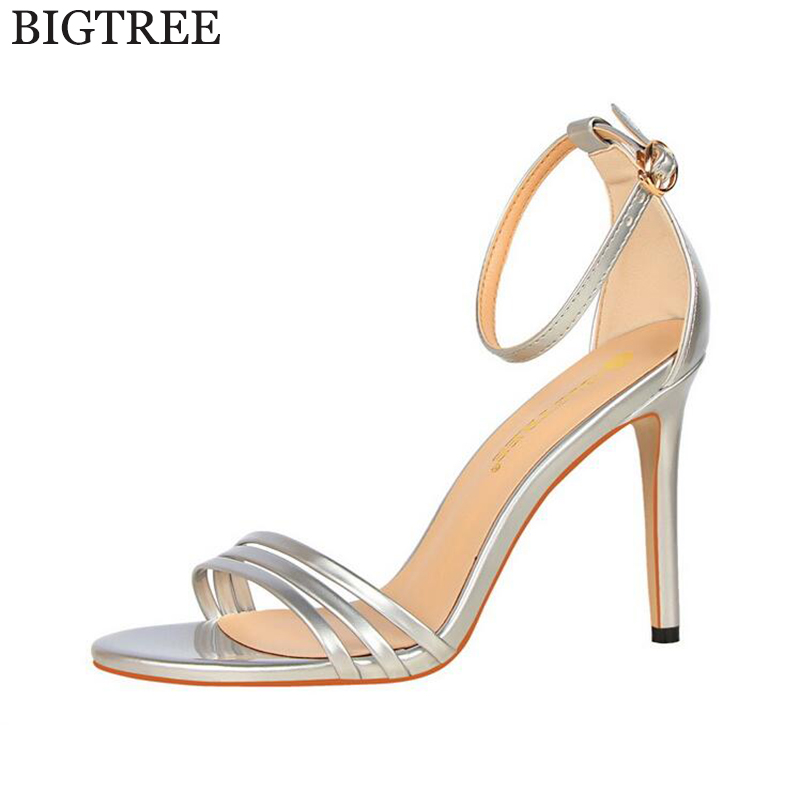Women Sandals New Sexy High Heel Gladiator Sandals Women Ladies Fashion Contract Candy Color Sexy Peep Toe Dancing Sandals k216 thesocial contract