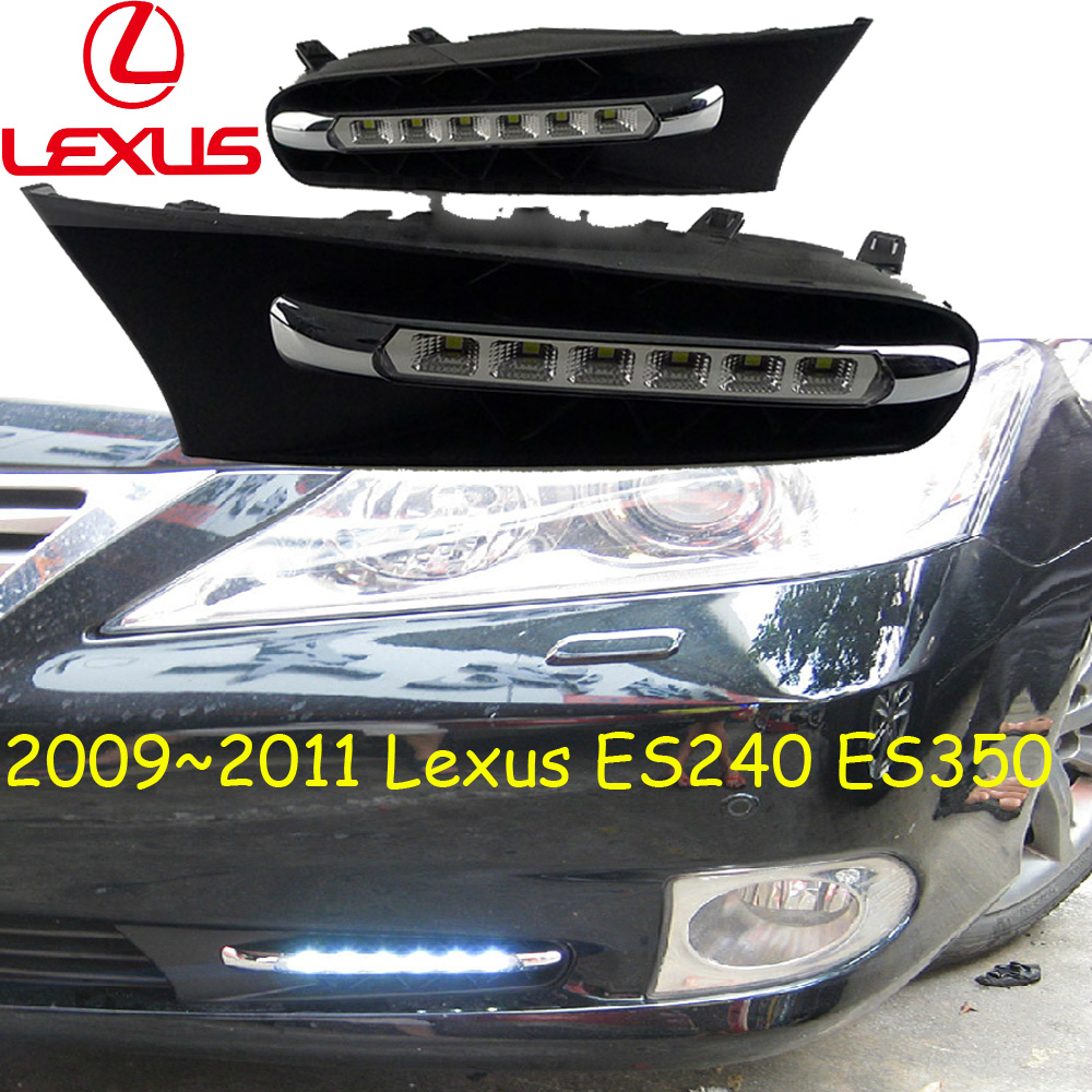 Car-styling,Lexuz ES240 daytime light,2009~2013,LED,Free ship!ES350 FOG LIGHT,NX200T,X450,LX570,GS350,ES300H for lexus rx gyl1 ggl15 agl10 450h awd 350 awd 2008 2013 car styling led fog lights high brightness fog lamps 1set