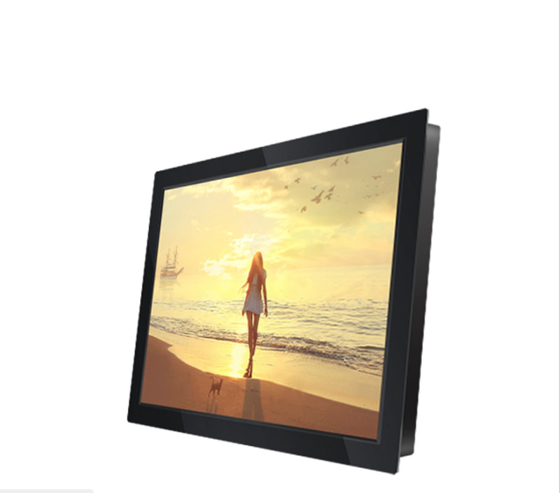 3 Year Warranty Square Open Frame Option 10 12 13 14 15 17 19 Inch Industrial LCD Monitor