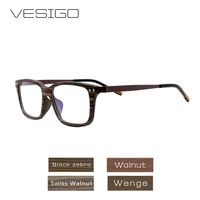 Wood Optical Glasses Frames Clear Lens Wooden Eyeglasses Frame for Women Men prescription Glasses Computer Reading Glasses0130L
