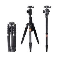 Fusitu F 666 Профессиональный Камера монопод Трость Портативный путешествия Камера штатив для DSLR Камера и телефон