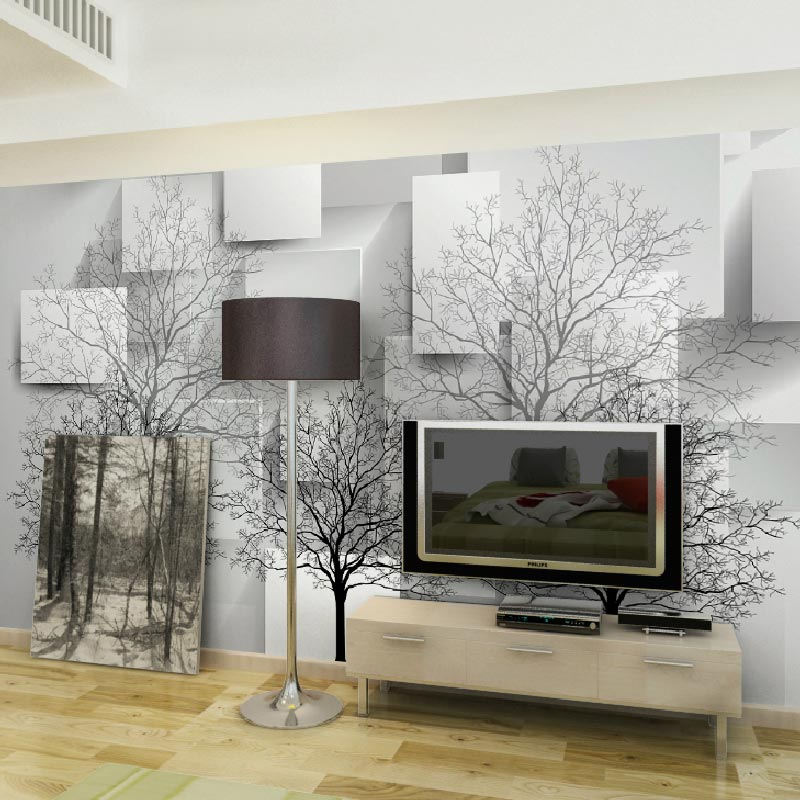 Aliexpress.com : Buy Home Office Decor Mural Wall Papers 3d Modern Photo Wallpaper  Living Room Bedroom TV Wall Murals (self Adhesive Vinyl Optional) From ...