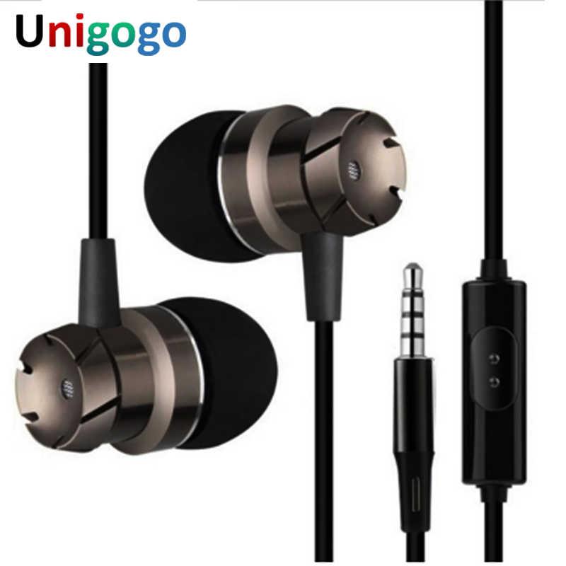 3.5 Mm Wired Headphone Handsfree Headset Di Telinga Earphone Earbud dengan MIC untuk Xiomi Xaomi iPhone Xiaomi Ponsel MP3 laptop