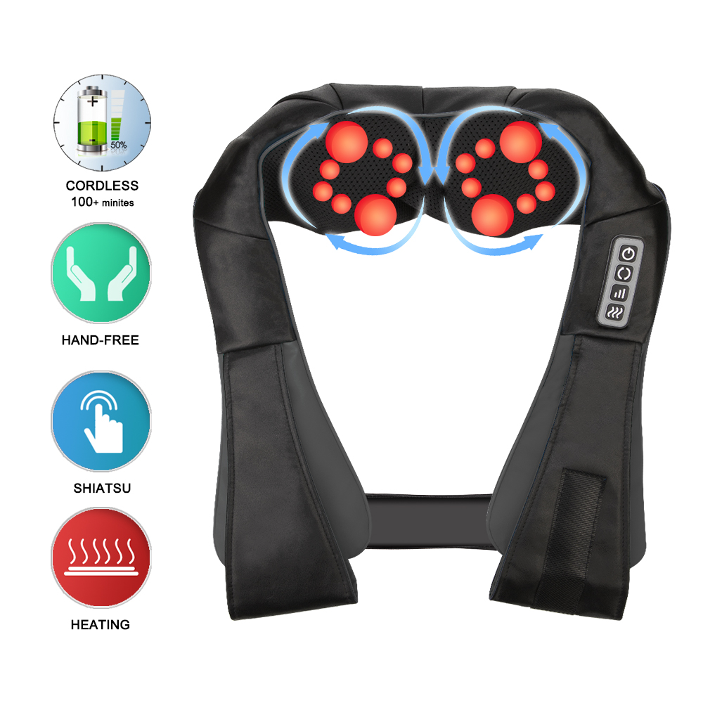 Infrared Back Neck Shoulder Massager features