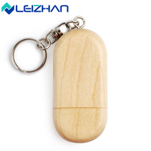LEIZHAN USB Flash Drive 16 gb Wood Pendrive Personalized Logo Wedding Gift 8GB USB Memory Stick 32GB Pen Drive 64GB Pendrive 4GB