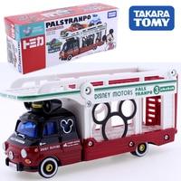 Takara Tomy Tomica Disney Motors Paruzu Toranpo pasltranpo Mickey Mouse Transport vehicle CAR Diecast metal model toys big