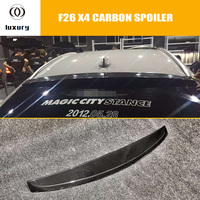 F26 X4 3D Style Carbon Fiber Rear Roof Window Spoiler for BMW F26 X4 2015 2016 Auto Racing Car Styling Rear Roof Lip Spoiler