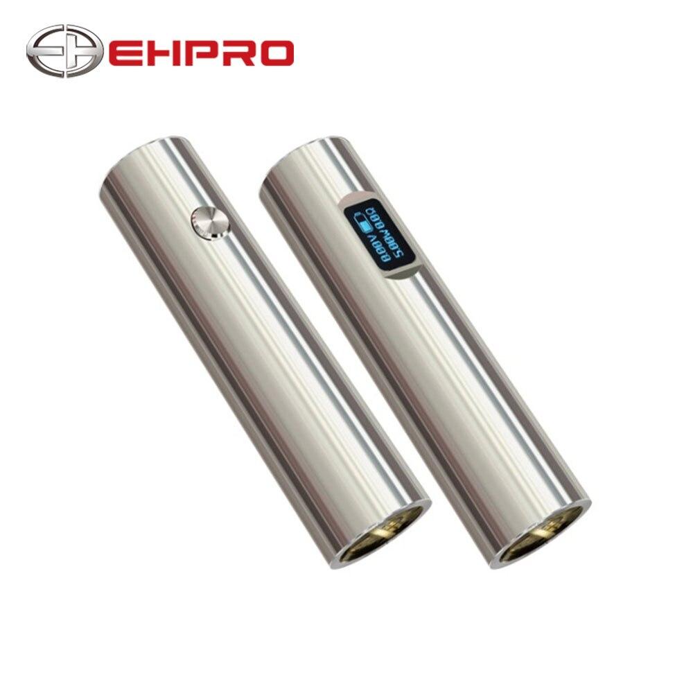 Ehpro 101 Mech MOD 50 W mécanique e-cig mécanique Vape MOD 101Mod alimenté par une seule batterie 18650 ou 18350 pour RDA RBA Atomzier